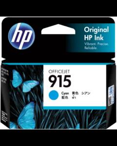 HP 915 Cyan Original Ink Cartridge