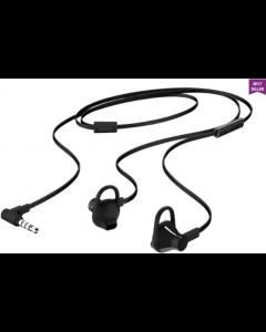 HP Earbuds Black Headset 150